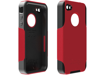 OtterBox Commuter Case Cover Red Black For Apple IPhone 4