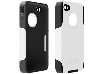 OtterBox Commuter Case Cover White Black For Apple IPhone 4 4S