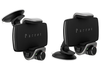 Parrot Minikit Smart Universal Bluetooth Car Kit, Cradle