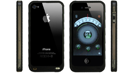 Fonerange apple iphone 4/4s fm transmitter & bumper case