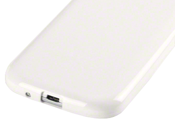 Fonerange jelly case cover white for samsung galaxy s3 i9300