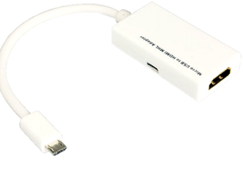 Fonerange mhl micro usb to hdmi link cable