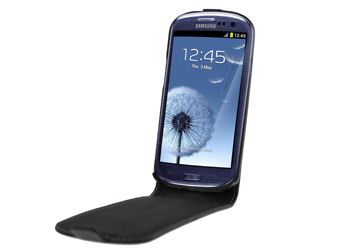 Fonerange samsung galaxy s3 i9300 slim leather executive case - black