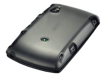 PrePayMania Sony Ericsson Xperia Play Black Jelly Case, Cover
