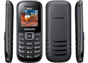 Samsung E1200 O2 Pay As You Go Mobile Phone - Black Images