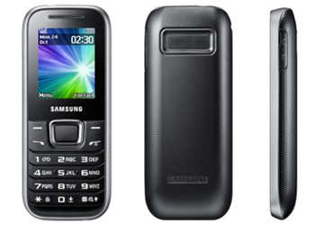 Samsung E1230 O2 Pay As You Go Mobile Phone - Black