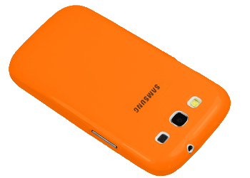 Samsung Galaxy S3 i9300 TPU 1.5mm Shell, Case, Cover - Orange