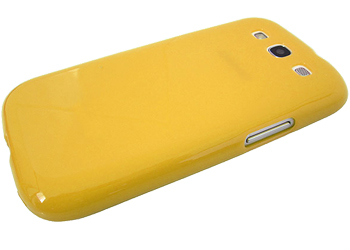 Samsung Galaxy S3 i9300 TPU 1.5mm Shell, Case, Cover - Yellow
