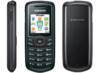 Samsung Guru E1081T Sim Free Mobile Phone Black
