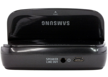 Samsung Universal Micro USB Desktop Dock for Samsung Galaxy S3 - Black
