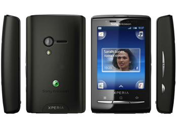 Sony Ericsson Xperia X10 Mini Android Sim Free Unlocked Mobile Phone - Black