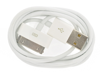 Fonerange usb sync cable for apple iphone 3g 3gs and ipod touch pack