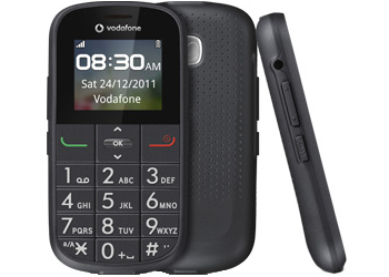 Vodafone 155 Pay As You Go Mobile Phone Grey