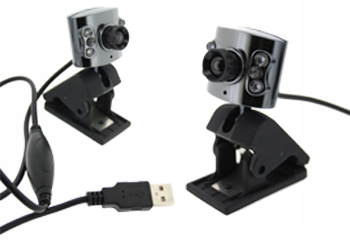 Fonerange 0.3 mp 6 led webcam with microphone