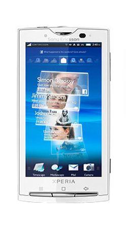 Sony Ericsson Xperia X10 Android Sim Free Unlocked Mobile Phone White
