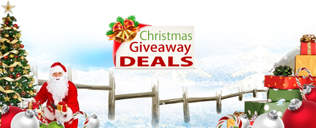 christmas give away deals