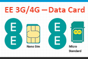 EE 3G/4G SIM Data Card