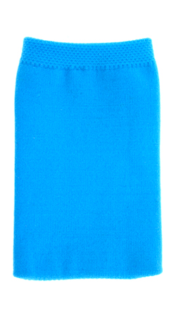 Fonerange blue plain cotton mobile phone sock