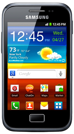 Samsung Galaxy Ace Plus S7500 Sim Free Unlocked Mobile Phone - Black