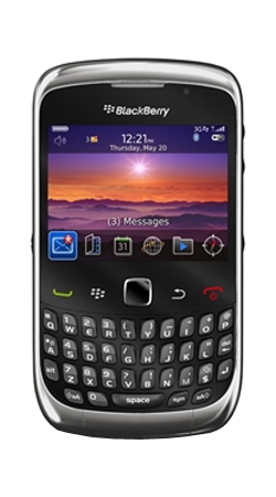 BlackBerry 9300 Curve 3G Orange Pay As You Go Mobile Phone
