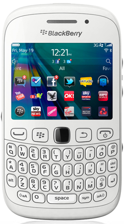 BlackBerry Curve 9320 T-Mobile Pay as you go Mobile Phone - White