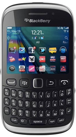 BlackBerry Curve 9320 Vodafone Pay as you go Mobile Phone - Black