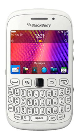 BlackBerry Curve 9320 Vodafone Pay as you go Mobile Phone - White