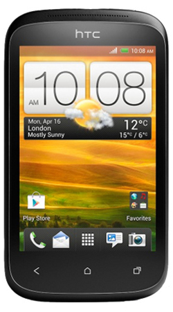 HTC Desire C Android T-Mobile Pay As You Go Mobile Phone � Black