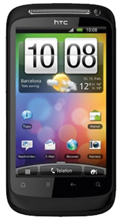 HTC Desire S Android Sim Free Unlocked Mobile Phone - Muted Black