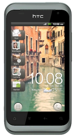 HTC Rhyme Android Sim Free Unlocked Mobile Smartphone - Clearwater (Blue)