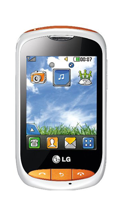 LG Cookie Style T310 T-Mobile Pay As You Go Mobile Phone - White