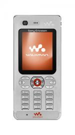 Sony Ericsson W880i Silver On Vodafone PAYG Mobile Phone