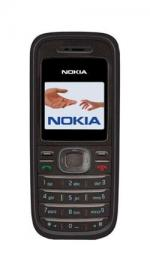 Nokia 1208 Black Sim Free Unlocked Mobile Phone