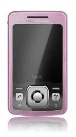 Sony Ericsson T303 Mobile Phone Pink on T Mobile PAYG