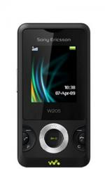 Sony Ericsson W205 Mobile Phone on Vodafone PAYG