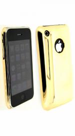 Fonerange Gold Chrome Protective Back Shell for Apple iPhone 3G and 3GS