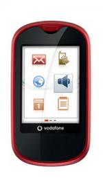 Vodafone VF541 Touch Red Mobile Phone on Vodafone PAYG
