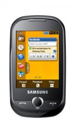 Samsung S3650 Genio Yellow Sim Free Unlocked Mobile Phone