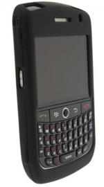 Rubber Shell for Blackberry 8900 Curve Black