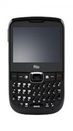 Rio Black Mobile Phone on Orange PAYG