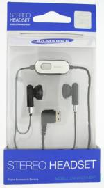 Samsung S20 Pin Stereo Headset Black