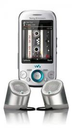 Sony Ericsson Zylo (W20i) Mobile Phone on Vodafone Pay as You Go with FREE MPS-100 Portable Speaker