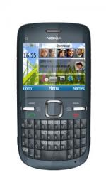 Nokia C3 Grey Mobile Phone on O2 Pay as You Go