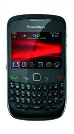 Blackberry Gemini 8520 (Curve) Orange Pay As You Go Mobile Phone - Black
