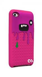 Case Mate Monsta Case Cover Pink Purple for 4th Generation Apple iPod Touch
