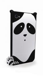 Case-Mate Creatures Xing (Panda) Case Cover Black for Apple iPhone 4/4S
