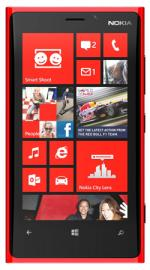 Nokia Lumia 920 Windows Sim Free Unlocked Mobile Phone- 32GB- Red