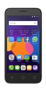 Click to view product details and reviews for Alcatel Onetouch Pixi 3 Sim Free Smartphone Black.