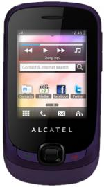 Alcatel OT-602 T-Mobile Pay As You Go Mobile Phone - Aubergine