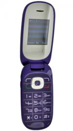Alcatel OT-665 O2 Pay As You Go Mobile Phone Aubergine